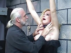 BDSM, Blondine, Latex, Reifen