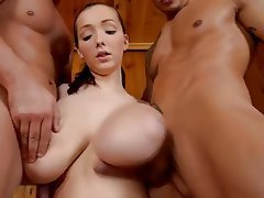 Babe, Big Boobs, Big Butts, Threesome