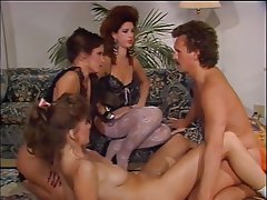 Face Sitting, Femdom, Group Sex, Hairy