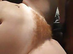 Hairy, Interracial, Redhead