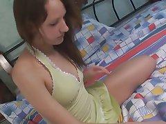 Brunette, Masturbation, Teen