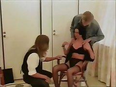 Cumshot, Facial, Group Sex, Nerd