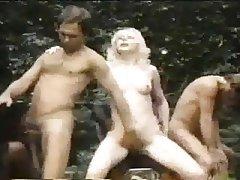 Cumshot, Double Penetration, Group Sex, Interracial