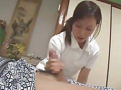 Asian, Blowjob, Handjob, Japanese