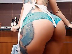 Big Boobs, Big Butts, Masturbation, Tattoo