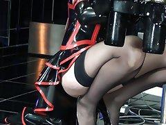 Bisexuel, Femme dominatrice, Látex, Gode ceinture