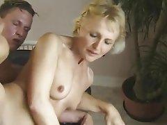 Deutsch, Oma, Reifen, Alt Und Jung