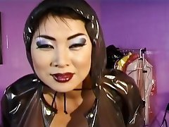 Asian, Big Boobs, Latex