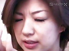 Asian, Blowjob, Brunette, Cumshot