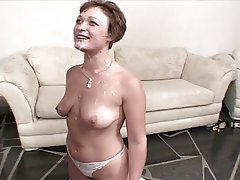 Blowjob, British, Cumshot, Facial