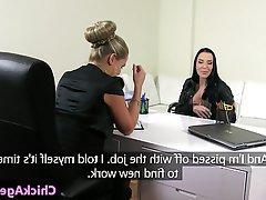Big Boobs, Lesbian, Strapon