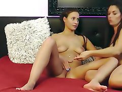 Lesbian, Strapon, Webcam