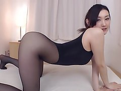 Asian, Big Boobs, Japanese, Stockings